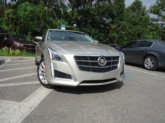2014 Cadillac CTS Sedan Luxury AWD. PANORAMIC. NAVIGATION SEFFNER, Florida 9