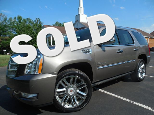 2014 Cadillac Escalade Platinum Leesburg, Virginia 0
