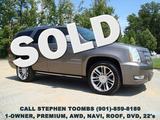 2014 Cadillac Escalade PREMIUM 1-OWNER, AWD, NAVI, ROOF, DVD, 22's in  Tennessee