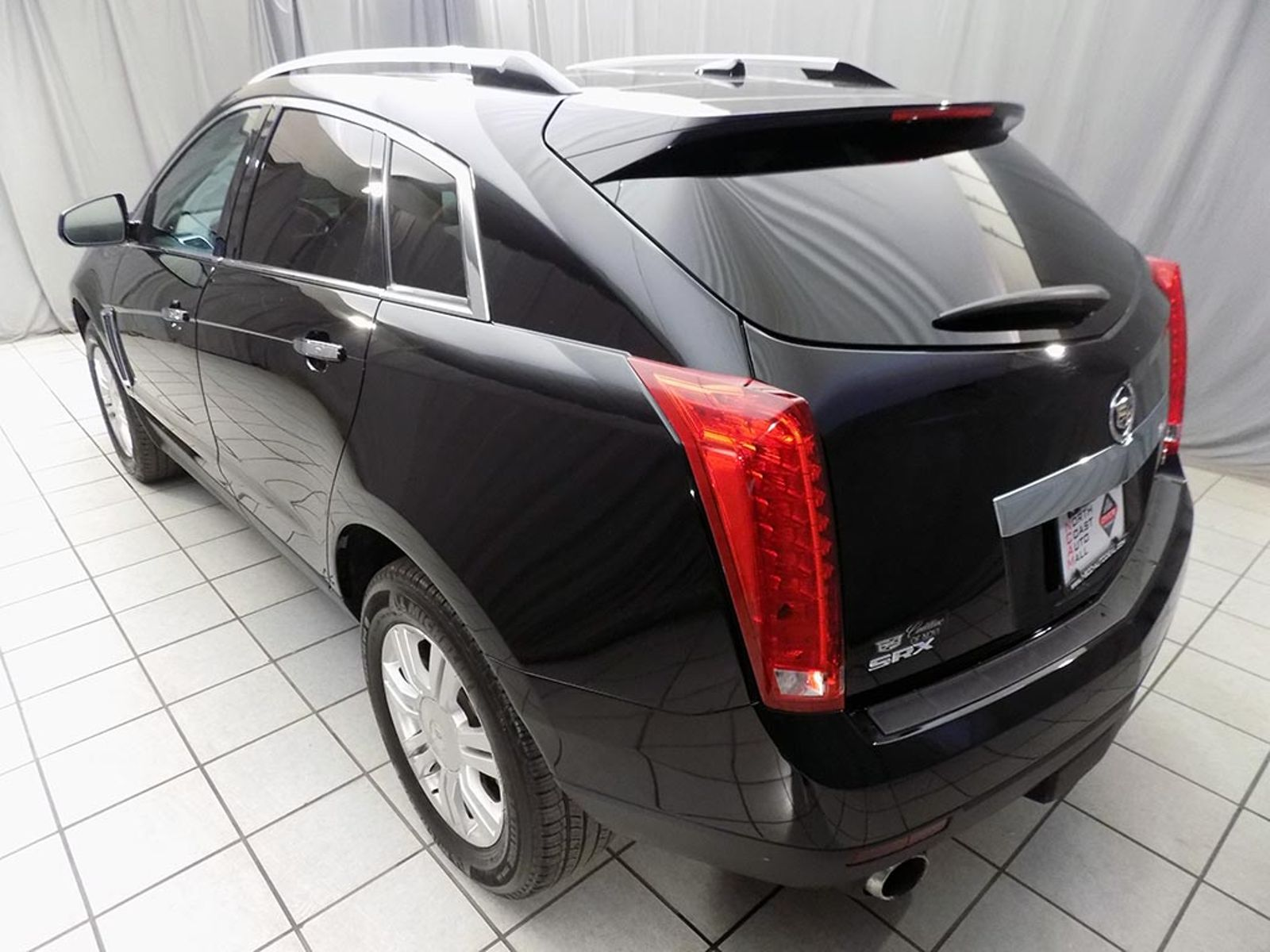 research large suv groovecar crystal tintcoat srx composite red cadillac