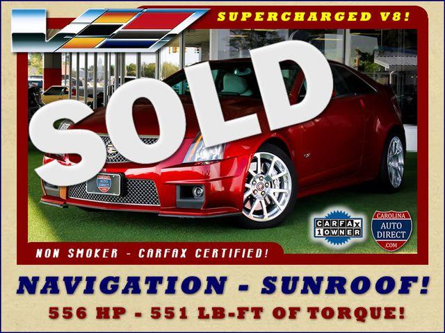 2014 Cadillac V-Series RWD - NAVIGATION - SUNROOF! Mooresville , NC 0