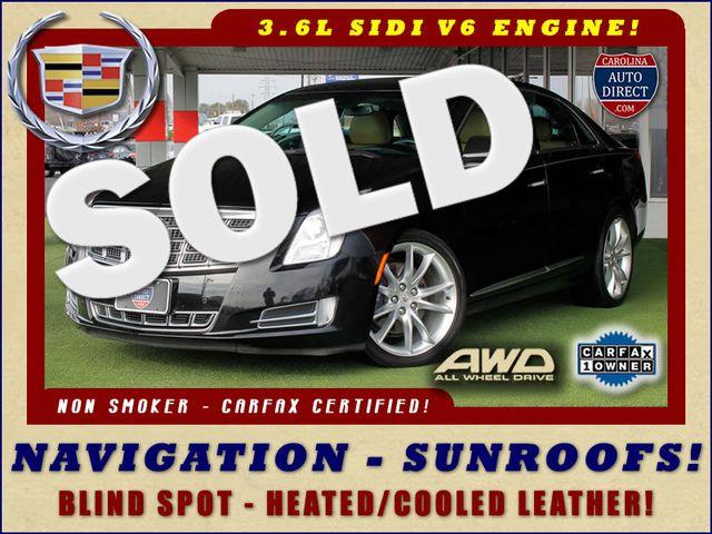 "2014 Cadillac XTS Premium AWD - NAV - SUNROOFS - 20"" WHEELS! Mooresville , NC 0"