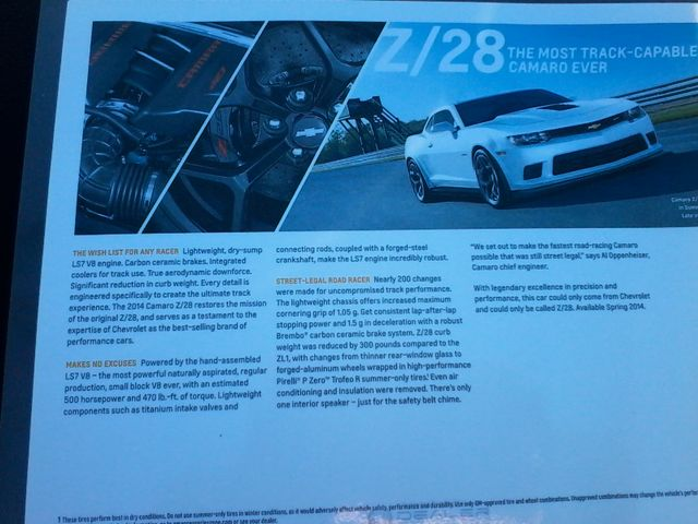 2014 Chevrolet Camaro 7.0L 427 Z/28 1 Of 515 Made !! San Antonio, Texas 33