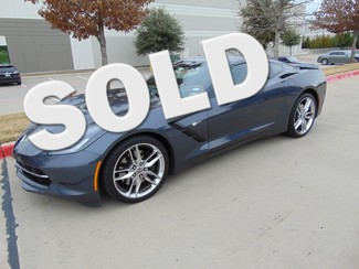 2014 Chevrolet Corvette Z51 3LT 3741 Miles One Owner Auto Loaded | Grapevine, TX | Corvette Center Dallas in Dallas TX