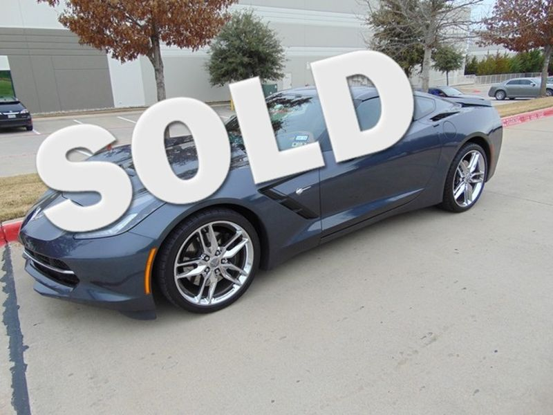 2014 Chevrolet Corvette Z51 3LT 3741 Miles One Owner Auto Loaded | Grapevine, TX | Corvette Center Dallas in Grapevine TX