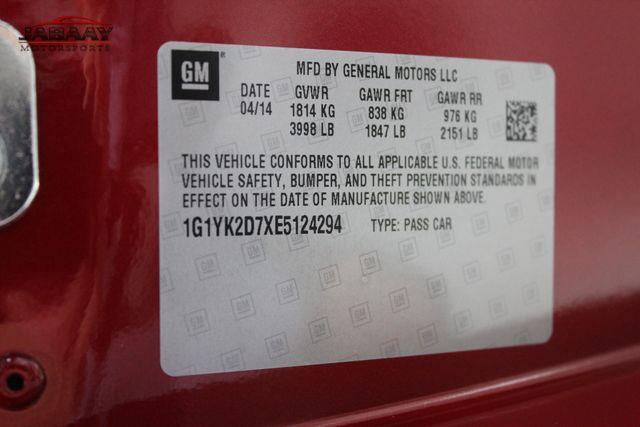 2014 Chevrolet Corvette Z51 2LT Merrillville, Indiana 52