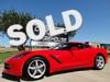 2014 Chevrolet Corvette Stingray Coupe Auto, Back Up Camera, Only 168 Miles! Dallas, Texas