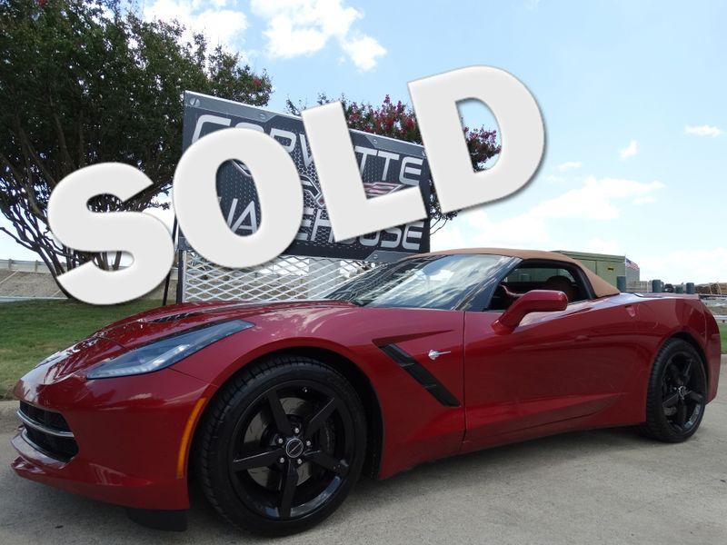2014 Chevrolet Corvette Stingray Convertible 3LT, NAV, NPP, Z51, FE4, Chromes 14k! | Dallas, Texas | Corvette Warehouse