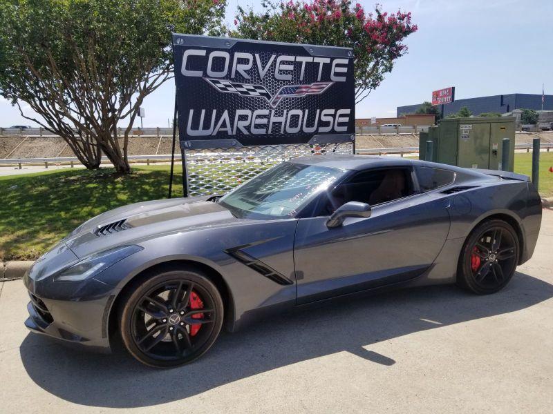 2014 Chevrolet Corvette Stingray Coupe Z51, 2LT, J55, Black Alloys, B&B Exhaust!! | Dallas, Texas | Corvette Warehouse