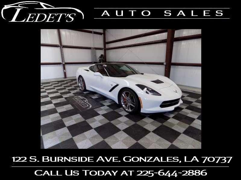 2014 Chevrolet Corvette Stingray Z51 3LT - Ledet's Auto Sales Gonzales_state_zip in Gonzales Louisiana