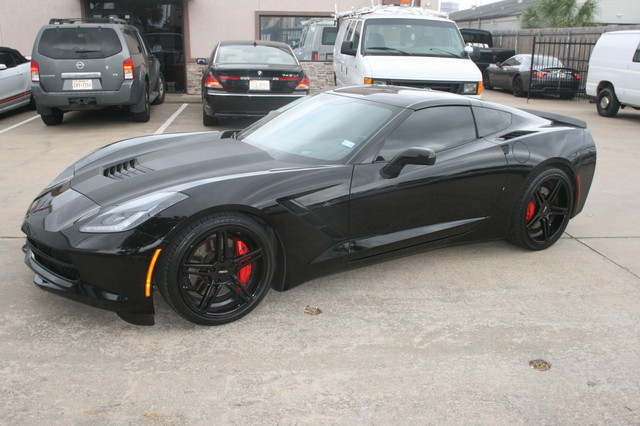 2014 Chevrolet Corvette Stingray Very rare Z51 3LT  custom Houston, Texas 3