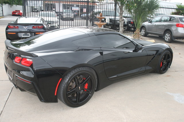 2014 Chevrolet Corvette Stingray Very rare Z51 3LT  custom Houston, Texas 8