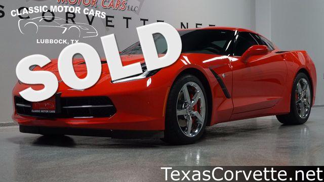 2014 Chevrolet Corvette Stingray 3LT   Lubbock, Texas   Classic Motor Cars