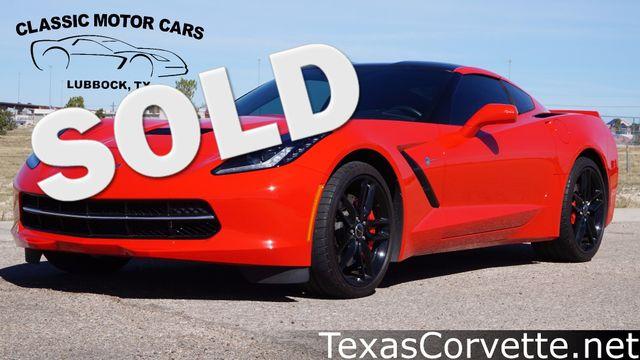2014 Chevrolet Corvette Stingray Z51 3LT   Lubbock, Texas   Classic Motor Cars