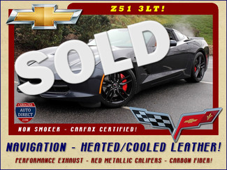 2014 Chevrolet Corvette Stingray Z51 3LT-NAVIGATION-HEATED/COOLED KALAHARI LEATHER Mooresville , NC