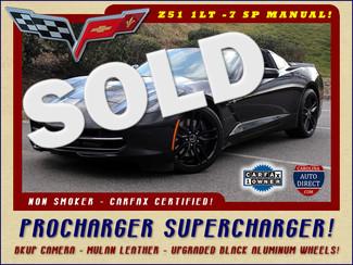 2014 Chevrolet Corvette Stingray Z51 1LT - PROCHARGER SUPERCHARGER - NAVIGATION! Mooresville , NC