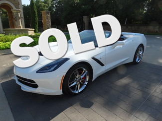 2014 Chevrolet Corvette Stingray Z51 3LT, Navigation, ONLY 1K miles! | Grapevine, TX | Corvette Center Dallas in Dallas TX