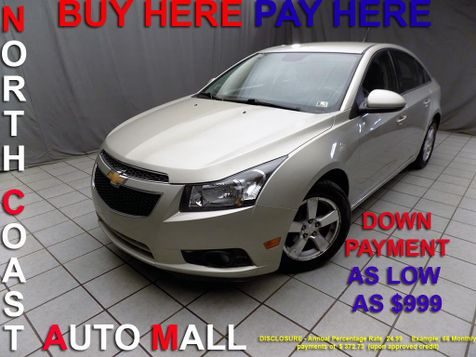 2014 Chevrolet Cruze 1LT As low as $999 DOWN in Cleveland, Ohio