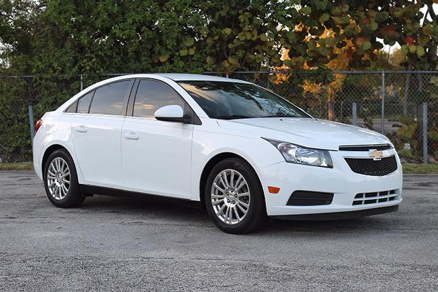 2014 Chevrolet Cruze ECO  WARRANTY CARFAX CERTIFIED 1 OWNER 9 SERVICE RECORDS GAS SAVER FL