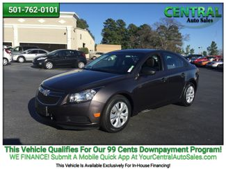 2014 Chevrolet Cruze LS | Hot Springs, AR | Central Auto Sales in Hot Springs AR