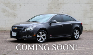 2014 Chevrolet Cruze Turbo with RS Package, Backup Cam, Pioneer Premium Audio, Moonroof & Heated Seats in Eau Claire