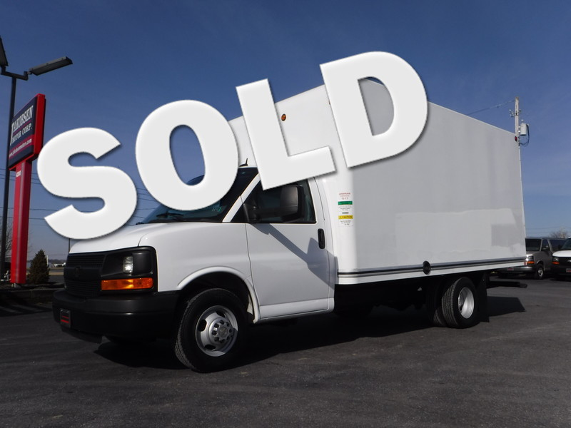 2014 Chevrolet Express 3500 15FT Box  in Ephrata PA
