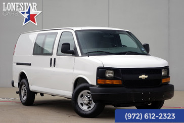 2014 Chevrolet Cargo Van G2500 One Owner Clean Carfax 14 Service Records in Plano