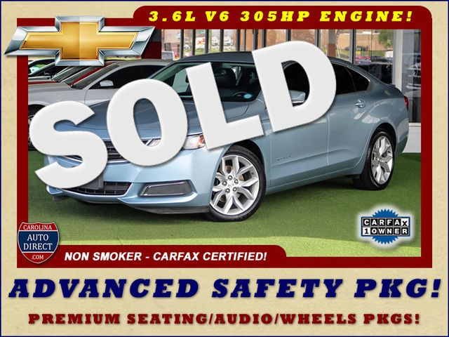 2014 Chevrolet Impala LT/2LT - PREMIUM SEATING & ADVANCED SAFETY PKGS Mooresville , NC 0