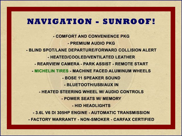 2014 Chevrolet Impala LTZ FWD - NAV-SUNROOF-HEAT/AC LEATHER! Mooresville , NC 1