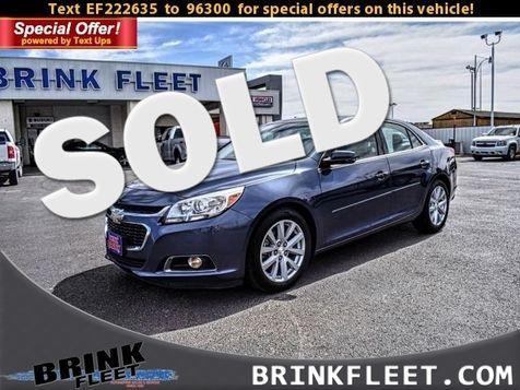 2014 Chevrolet Malibu LT | Lubbock, TX | Brink Fleet in Lubbock, TX
