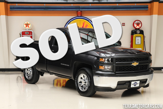 2014 Chevrolet Silverado 1500 Work Truck This Carfax 1-Owner accident-free 2014 Chevrolet Silvera