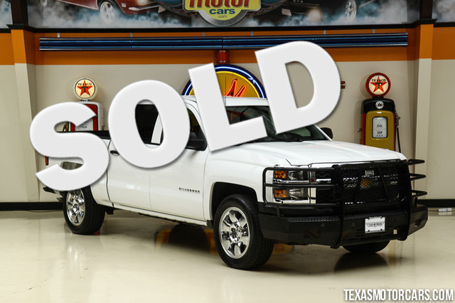 2014 Chevrolet Silverado 1500 4x4 This Carfax 1-Owner 2014 Chevrolet Silverado 1500 Work Truck is