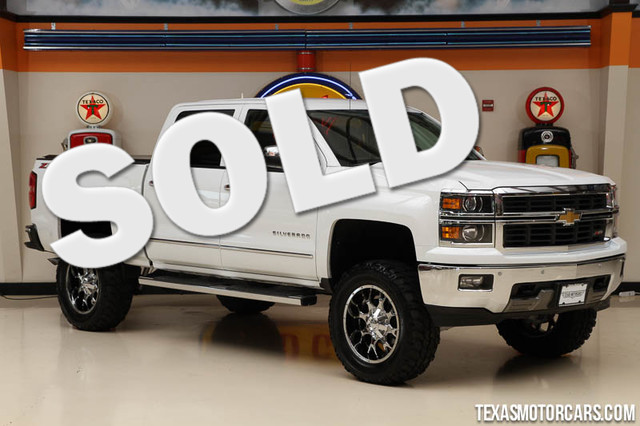 2014 Chevrolet Silverado 1500 LTZ This Carfax 1-Owner 2014 Chevrolet Silverado 1500 LTZ is in grea