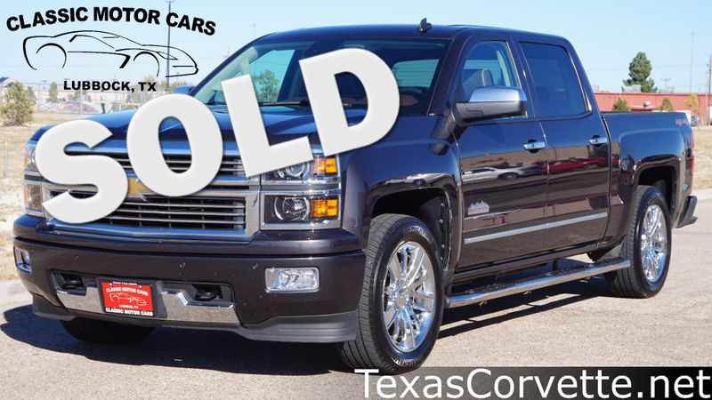 2014 Chevrolet Silverado 1500 High Country | Lubbock, Texas | Classic Motor Cars