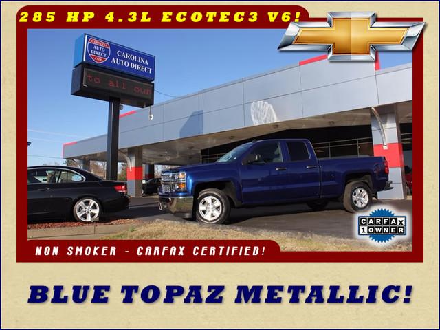 2014 Chevrolet Silverado 1500 LT Double Cab RWD - BLUE TOPAZ METALLIC! Mooresville , NC 0