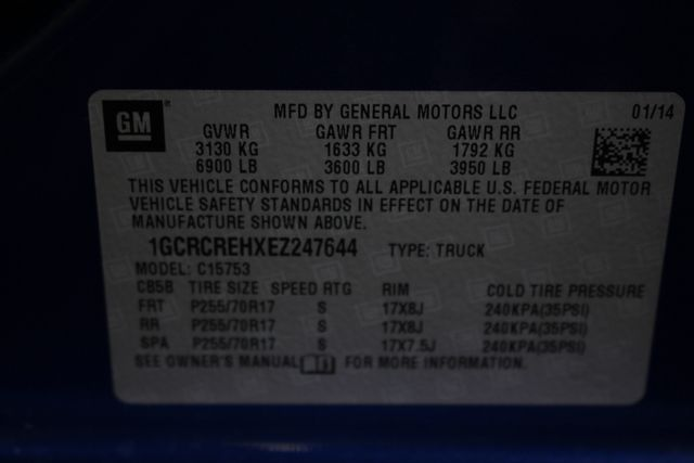 2014 Chevrolet Silverado 1500 LT Double Cab RWD - BLUE TOPAZ METALLIC! Mooresville , NC 45