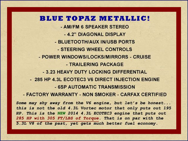 2014 Chevrolet Silverado 1500 LT Double Cab RWD - BLUE TOPAZ METALLIC! Mooresville , NC 1