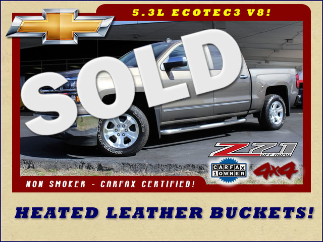2014 Chevrolet Silverado 1500 LTZ Crew Cab 4X4 Z71 - HEATED LEATHER! Mooresville , NC 0