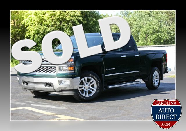 2014 Chevrolet Silverado 1500 LTZ Double Cab 4x4 - HEATED LEATHER BUCKETS! Mooresville , NC 0