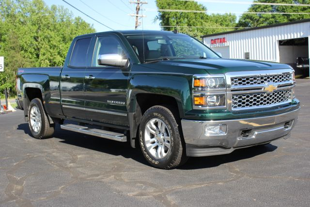 2014 Chevrolet Silverado 1500 LTZ Double Cab 4x4 - HEATED LEATHER BUCKETS! Mooresville , NC 17
