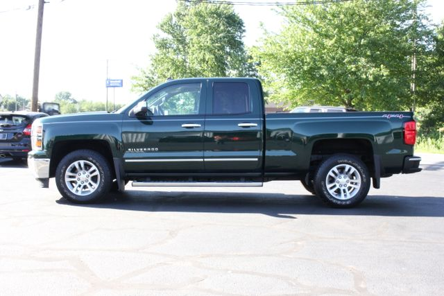 2014 Chevrolet Silverado 1500 LTZ Double Cab 4x4 - HEATED LEATHER BUCKETS! Mooresville , NC 11