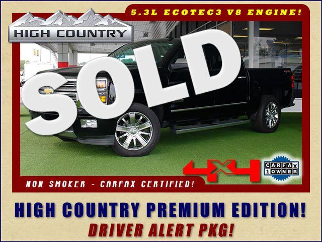 2014 Chevrolet Silverado 1500 High Country Premium Edition Crew Cab 4x4 Mooresville , NC 0