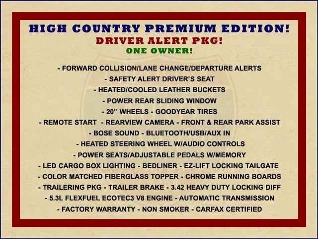 2014 Chevrolet Silverado 1500 High Country Premium Edition Crew Cab 4x4 Mooresville , NC 1