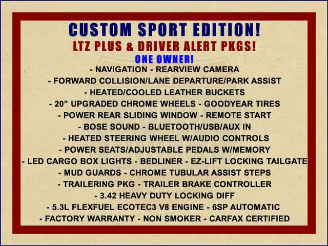 2014 Chevrolet Silverado 1500 LTZ PLUS Crew Cab 4x4 - CUSTOM SPORT EDITION! Mooresville , NC 1