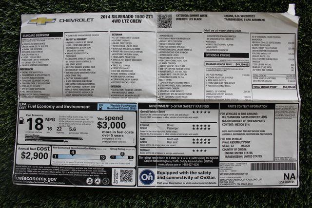 2014 Chevrolet Silverado 1500 LTZ PLUS Crew Cab 4x4 Z71 - NAVIGATION - SUNROOF! Mooresville , NC 6