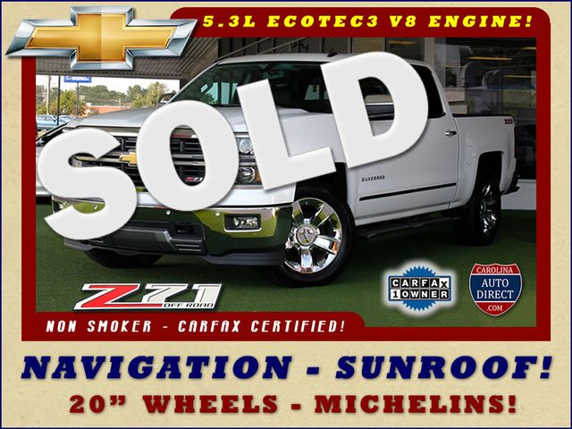 2014 Chevrolet Silverado 1500 LTZ PLUS Crew Cab 4x4 Z71 - NAVIGATION - SUNROOF! Mooresville , NC 0