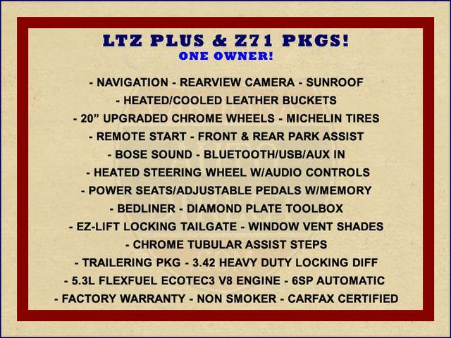 2014 Chevrolet Silverado 1500 LTZ PLUS Crew Cab 4x4 Z71 - NAVIGATION - SUNROOF! Mooresville , NC 1