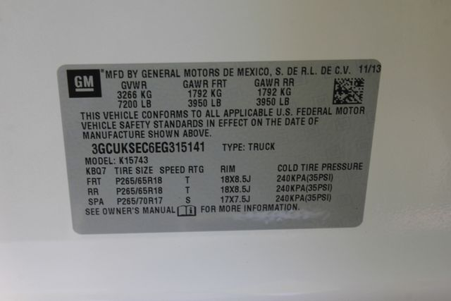 2014 Chevrolet Silverado 1500 LTZ PLUS Crew Cab 4x4 Z71 - DRIVER ALERT PKG! Mooresville , NC 44