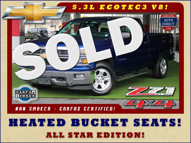 2014 Chevrolet Silverado 1500 LT Double Cab 4x4 Z71 - HEATED BUCKETS! Mooresville , NC 0