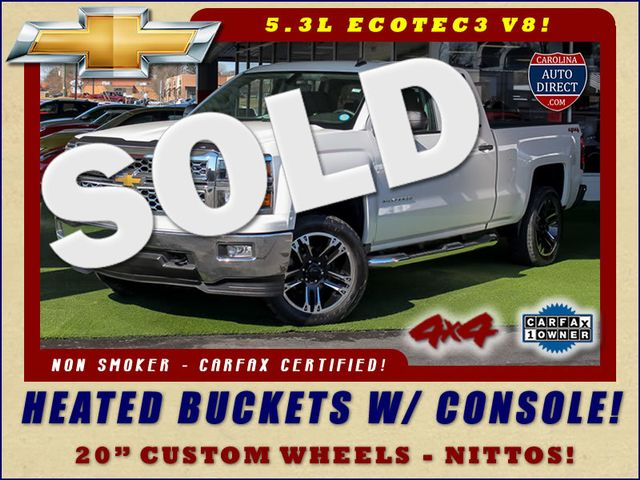 2014 Chevrolet Silverado 1500 LT Double Cab 4x4 - ALL STAR - HEATED BUCKETS! Mooresville , NC 0